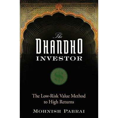 The Dhandho Investor: The Low  Risk Value Method to Hig - Hardcover NEW Pabrai,