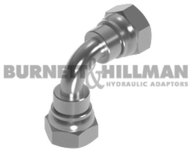 Burnett & Hillman BSP Swivel Female x BSP swivel female 90° Swept Elbow Fitting
