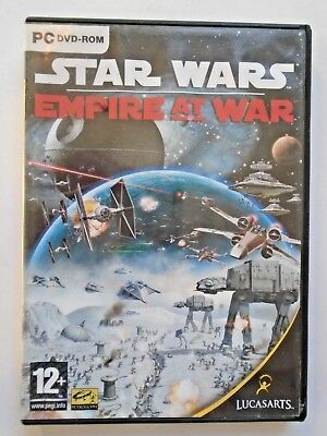 Star Wars: Empire at War PC Game RTS Disc + Manual + CD Key included