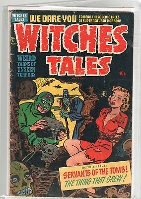 Witches Tales  #  6   1951    Harvey Horror Comic