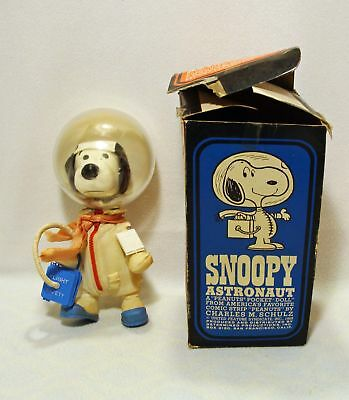 Vintage 1969 Snoopy Astronaut Ufs Determined Products Complete In Box**wow!!