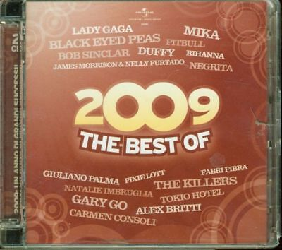 The Best Of 2009 - Lady Gaga/Mika/Negrita/Consoli/Fabri Fibra 2x CD Eccellenti