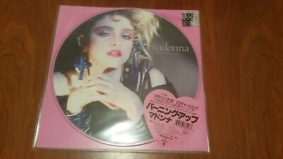 Madonna ' The First Album - Picture  '  Lp Mint & Sealed Rsd 2018