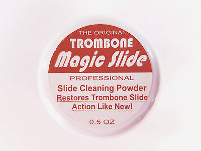 Magic Slide Trombone Slide Cleaning Powder BRAND NEW QuinnTheEskimo