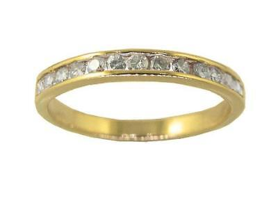 Real Diamond Wedding Stackable Ring 0.40Carat 14Kt Solid Gold SZ 4-12 Appraisal