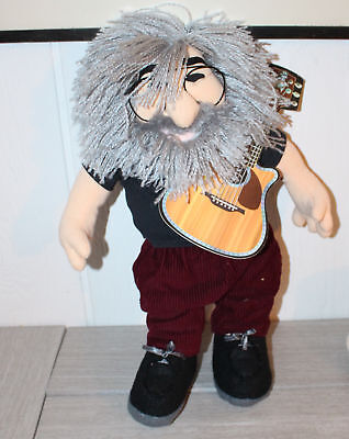 Gund Liquid Blue The Grateful Dead Jerry Garcia Stuffed Push Toy 1998 18""