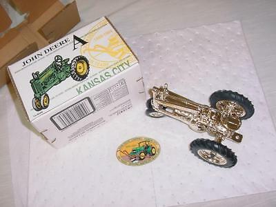 Gold John Deere A 1994 Kansas City 125th Anniversary Mint Cond 1 of 2400