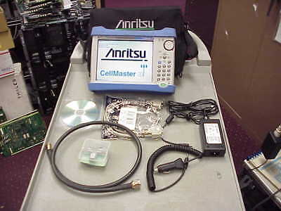 Anritsu MT8212E Cell Master Base Station Analyzer-opt-21-cal kit-cable
