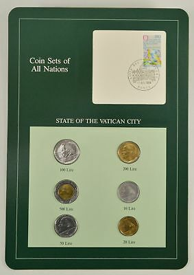 Coin Sets Of All Nations - State Of The Vatican City *592