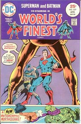 WORLDS FINEST 229 VF-NM April 1975 COMICS BOOK