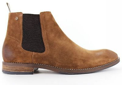 New Wild Rhino Winton Mens Suede Chelsea Dress Boots Made In Portugal