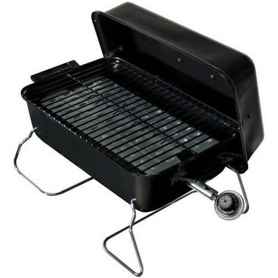 Char Broil BBQ Portable Propane Gas Grill Steel Barbecue Outdoor Mini Small  NEW