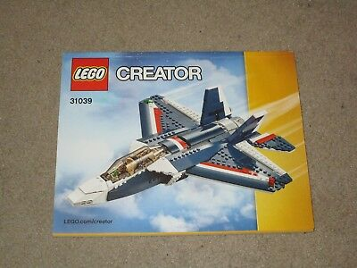 Lego Creator 31039 Instructions Only Boat Helicopter Plane 3 In 1