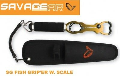 Savage Gear Fishgripper with Scale Fischgreifer mit Waage & Tasche