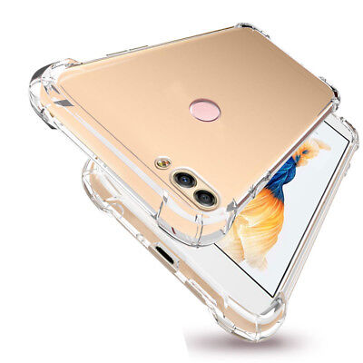 For Huawei P Smart P20 Pro Lite Shockproof Transparent Soft TPU Clear Case Cover