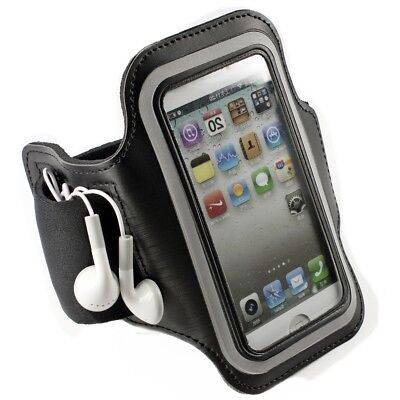 Sport Armband For Apple Iphone Se 5 5S Key Tray Black Running Jogging Mobile