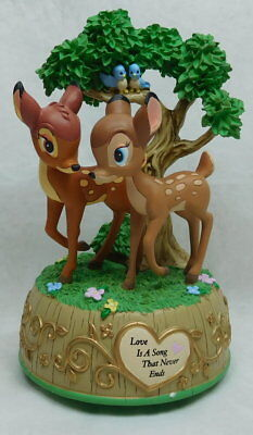 Disney Precious moments Showcase Bambi & Faline Spieluhr 179710