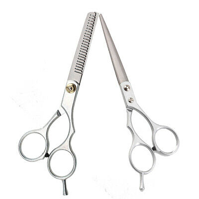 "5.5"" Professional Hair Cutting & Thinning Scissors Shears Hairdressing Set"