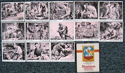 1950s  Stamina  MEN  OF  STAMINA  Cards - Set 7A  (in original packet)