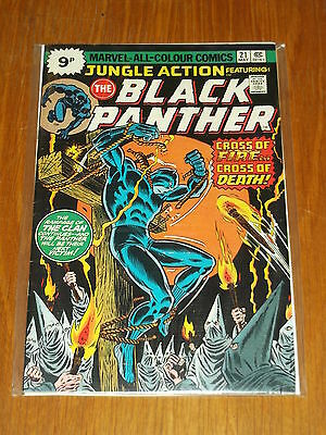 Jungle Action #21 Black Panther Vf (8.0) Marvel Comics May 1976*