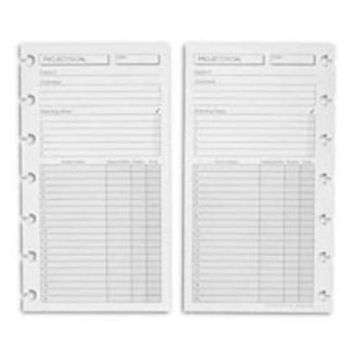 Levenger Special Request Circa Project Planner Refills-Compact