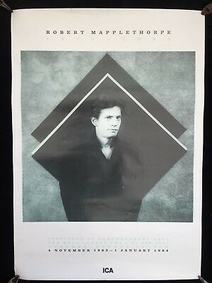 Robert Mapplethorpe Original 1983 I.C.A. London Exhibition Poster