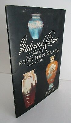 Frederick Carder And His Steuben Glass 1903-1933