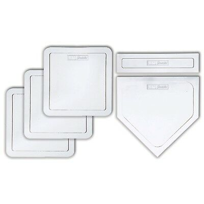Franklin MLB® 5PC Rubber-Tec®  Base Set - Baseball - TeeBall - Softball