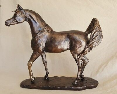 Whisper, Arabian Horse Sculpture, Figurine, Trophy, Statue