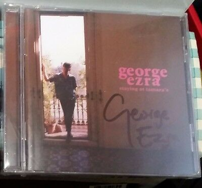 George Ezra Staying at Tamara's SIGNED Sealed CD - now sold out