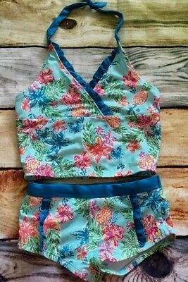 Gymboree Outlet Swim Shop Tankini Swimsuit Shorts Ruffle Floral NWT 7 8 10 12
