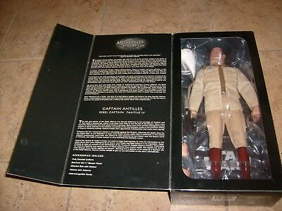 Sideshow Star Wars Captain Antillies Deluxe 1:6 Sixth Scale Hot Figure MIB Toys