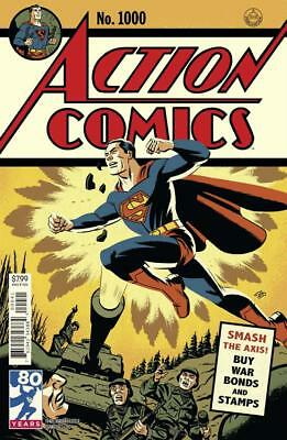 Action Comics #1000 1940S Variant Cho 1St Print Golden Age Superman Sold Out Dc