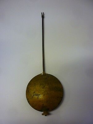 Original Antique French Movement Brass Pendulum with bottom adjustment (5)