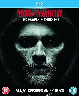 SONS OF ANARCHY Complete Series BLU-RAY Box Set BRAND NEW Free Shipping