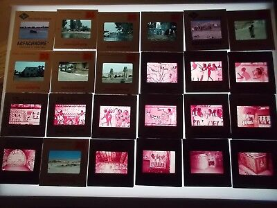 Lot 200+ Vintage 1976 Luxor Egypt Nile Color Slides
