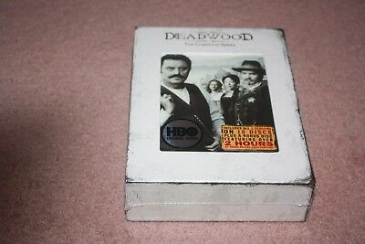 Deadwood - The Complete Series (DVD, 2008, 19-Disc Set) *Brand New Sealed*