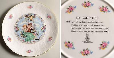 Royal Doulton VALENTINES DAY PLATE On A Swing 77913
