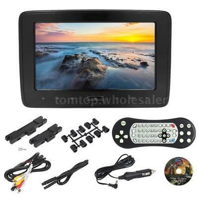 "10""Inch Car Headrest Digital LCD DVD Player Auto Monitor Video Game HD/USB/AV/SD"