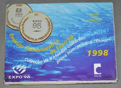 Portugal 1998 Proof Set - 8 Coins