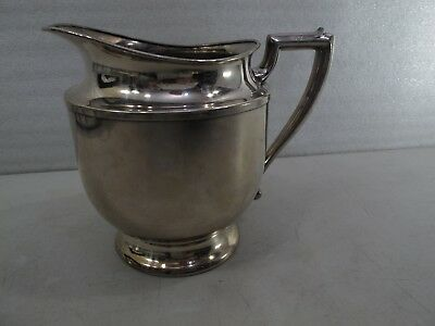 LOT OF Vintage Silverplate WATER PITCHER oval serving tray TWO PIECES   416