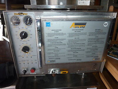 Acu Temp Steam And Hold Steamer,Model S32401Do3025,240 V,1 Ph, S/S,900 Items   ,