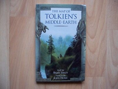 book The Map of Tolkien's Middle-Earth text by Brian Sibley
