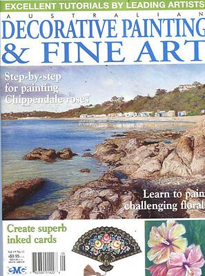 MAGAZINE -  FINE ART & DECORATIVE PAINTING Vol 19 No 11