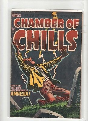 Chamber Of Chills  #  17   1953   Golden Age Comic