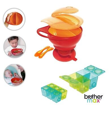 Brother Max Home & Travel Baby Weaning Pots & Bowl