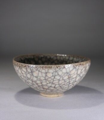 Antique Chinese Ge Ware Crackle Glazed Bowl