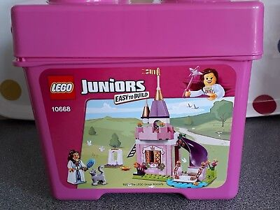 lego juniors the princess play castle 10668 100 complete and in
