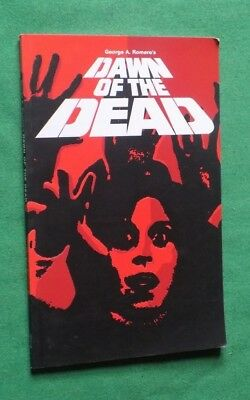 George A Romeros Dawn of The Dead Zombies graphic novel softback