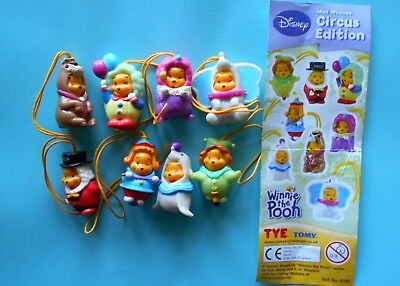 Tomy Winnie The Pooh Circus Edition  Serie Completa